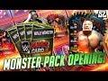 Wwe Supercard Season 4  Monster Amp Beast Pack Opening Crazy Pulls