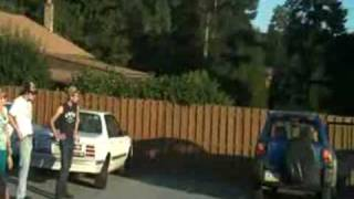 Car Roof Jump Fail