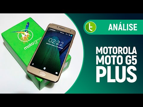 Análise Moto G5 Plus  Review do TudoCelular