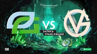 Optic vs VG, The International 2018, Group stage, game 1
