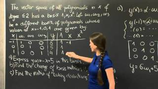 Change Of Basis | MIT 18.06SC Linear Algebra, Fall 2011