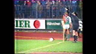 Rudi Völlers Hattrick gegen Borussia Dortmund (1984)