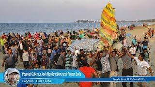 Pesawat Gubernur Aceh Mendarat Darurat di Peukan Bada