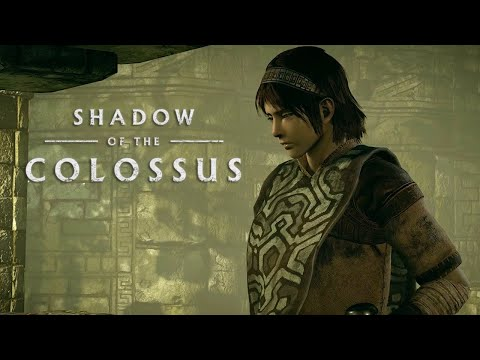 Shadow of the Colossus - PSX 2017: PS4 Gameplay