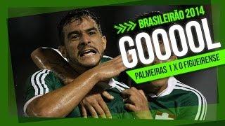 O Verdão venceu mais uma e já está no G4 do Campeonato Brasileiro. Confira mais um gol do centroavante Henrique!