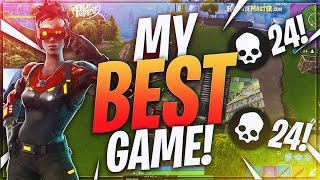 TSM Myth - MY BEST GAME TO DATE!! 24 FRAGS!! (Fortnite BR Full Match)