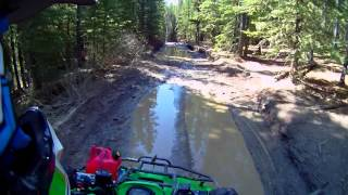 10. Spring Ride In the Mountains Arctic Cat 650H1