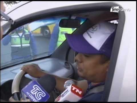 Varios conductores sin salvoconducto no lograron ingresar a la ciudad
