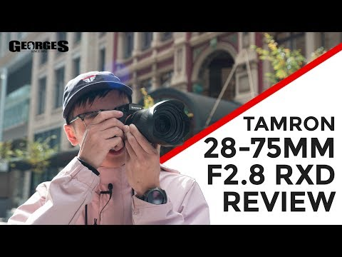 Tamron 28-75mm F/2.8 Di III RXD Lens for Sony Full Frame Mirrorless video