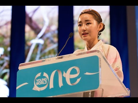 Escaping from North Korea in search of freedom   Yeonmi Park   One Young World