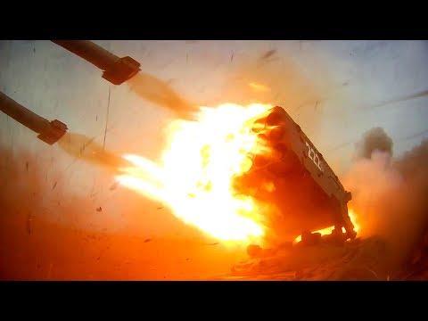 Стрельбу из «Солнцепека» и «Змея Горыныча» сняли на видео