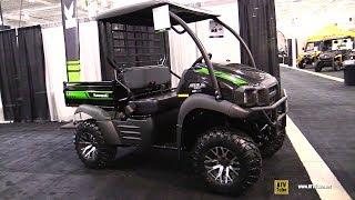 9. 2019 Kawasaki Mule SX XC 400 Utility ATV  Walkaround  2018 Toronto ATV Show