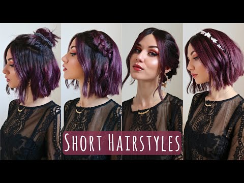 Short hair styles - Hairstyles for Short, One length Hair