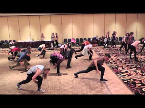 Alyson Stoner - First night of Urban Reach Dance Convention Burlington got a special kick off with an adult Beginner class from Alyson Stoner and then she and Lindsay Richar...