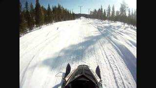 1. Polaris Rush Pro-R LE 800 2012. Test Ride.