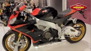 10. New Aprilia RSV4 APRC Factory 2013 with ABS Intermot cologne