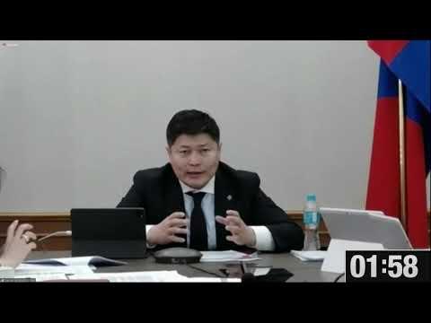 Х.Нямбаатар: Камержуулалтын систем нь Кибер аюулгүй байдлын хуулиар хамгаалагдана