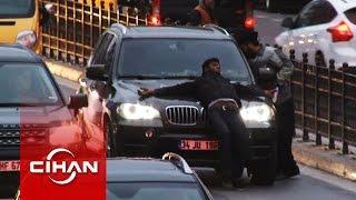 Tinerciler trafikte terör estirdi!