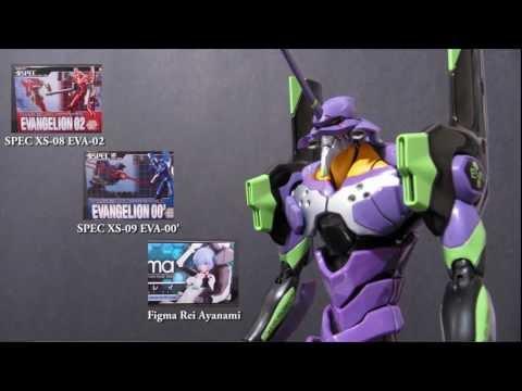 Neon Genesis Evangelion - Soul of Chogokin SPEC XS-01 EVA-01 Review