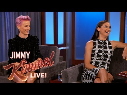 Alex Morgan & Megan Rapinoe on Winning the World Cup & Equal Pay