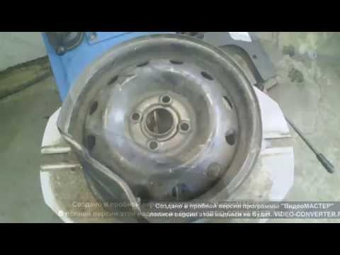 Изготовление литых дисков своими руками