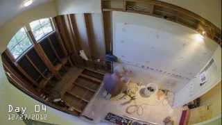 Time-Lapse of Complete Bathroom Remodel