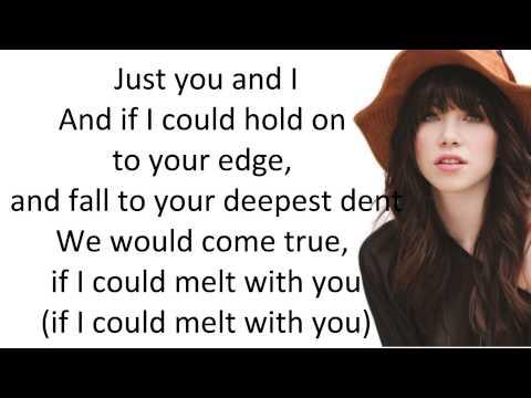 Tekst piosenki Carly Rae Jepsen - Melt With You po polsku