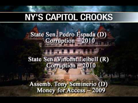 NY's Clown Car of Corruption: More Scandal, More Arrests (Part 1 of 2)