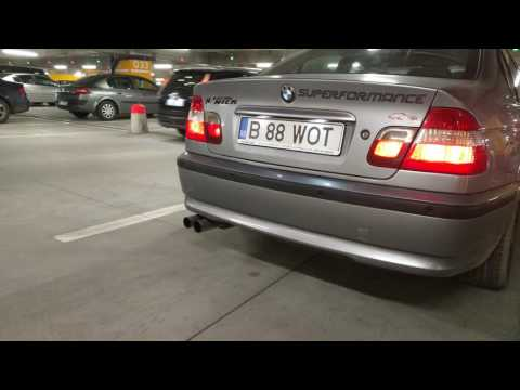 BMW E46 320D FL downpipe
