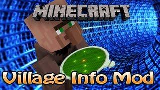 Minecraft Village Info Mod (1.3.2) - House, Villager,&Golem Counter - Villager Locator