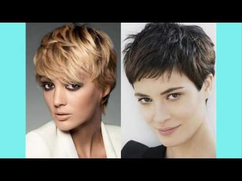 Модная стрижка на короткие волосы 2017-2018 женские
