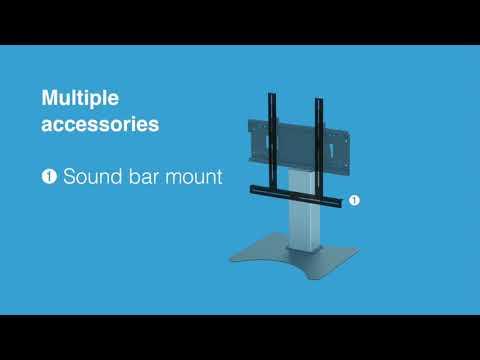HI-LO® Mono free standing screen mount