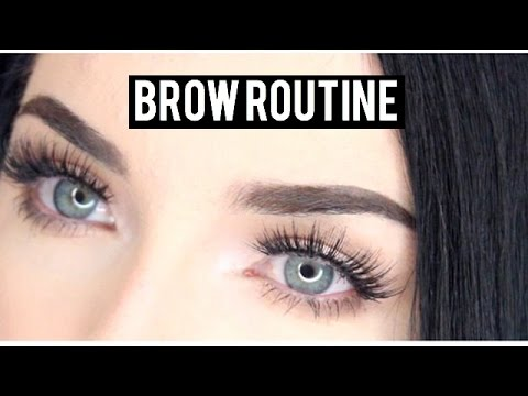EYEBROW TUTORIAL FOR BLACK HAIR!