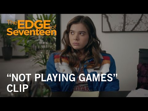 The Edge of Seventeen (Clip 'Not Playing Games')