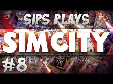 Sips Plays Sim City - Part 8 - Bus Tales (видео)