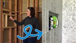 Build a DIY Shower Niche - Master Bathroom Remodel #2