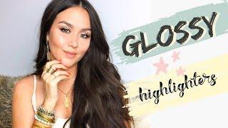 BEST GLOSSY HIGHLIGHTERS | GLASS SKIN by Danna Ann