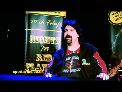 Mick Foley on Comedy & Wrestling - Sportsvibe TV