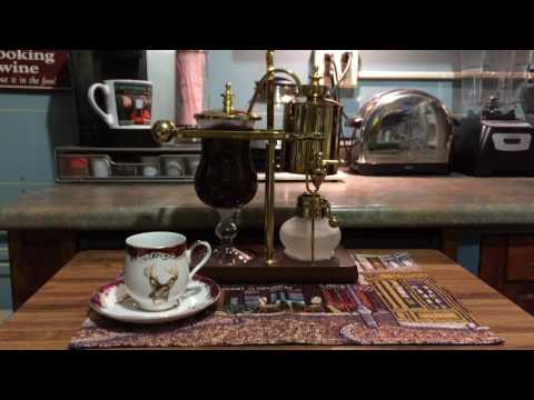 Belgian Royal Balancing Syphon Coffee Maker