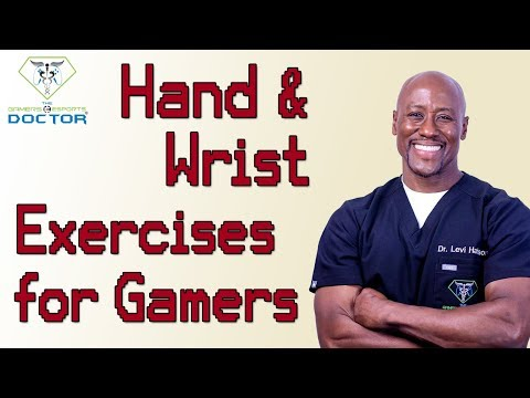 hand and wrist exercises for gamers musicians and anyone who uses a computer a bunch
