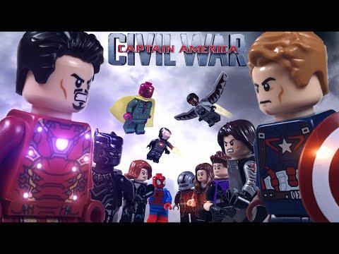 Lego Captain America: Civil War Part 2