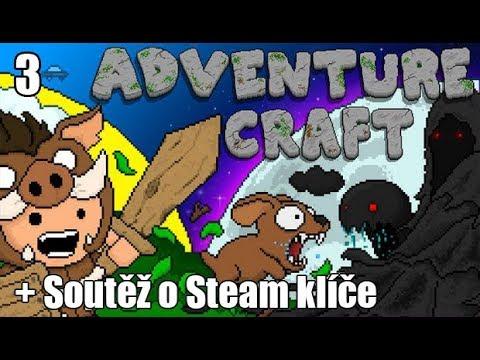 Adventure Craft - Díl 3. - Soutěž o Steam Klíče