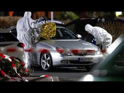 Μακελειό στην πόλη Χανάου: Εννέα νεκροί από πυροβολισμούς- Νεκρός κι ο φερόμενος ως δράστης…