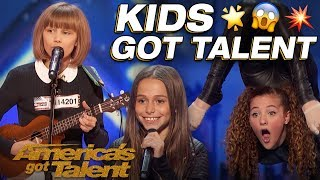 Video Grace VanderWaal, Sofie Dossi, And The Most Talented Kids! Wow! - America's Got Talent MP3, 3GP, MP4, WEBM, AVI, FLV April 2019