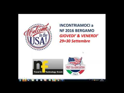 Video PROGETTO NF16 by VIsit USA Association (19/9/2016)