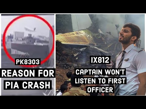 PIA CRASH FOOTAGE + WHAT HAPPENS WHEN CAPTAIN DOESN'T LISTEN TO FIRST OFFICER l COCKPIT STORIES EP 8