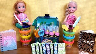 Video Back to School shopping ! Elsa and Anna toddlers get supplies MP3, 3GP, MP4, WEBM, AVI, FLV Agustus 2019