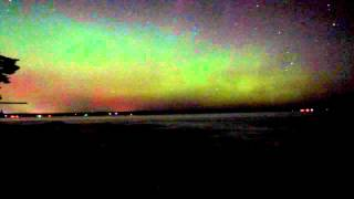 Houghton (MI) United States  city photo : Aurora Borealis 17.3.2015 Houghton Michigan
