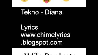 Download Lagu Tekno miles-Diana (official lyrics video)by @Miloproducts Mp3