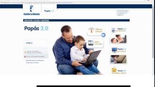 Vídeo - tutorial para completar la solicitud de admisión en Papás.